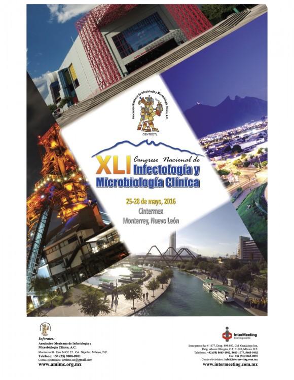 XLI Congreso de la Asociación Mexicana de Infectología y Microbiología Clínica, A.C.