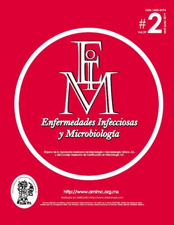 Revista Enfermedades Infecciosas y Microbología #2 2019