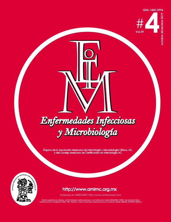 REVISTA ENFERMEDADES INFECCIOSAS Y MICROBOLOGÍA #4 2019