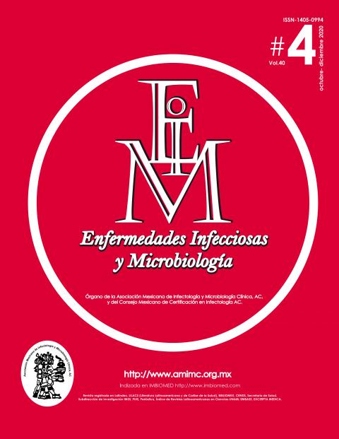 REVISTA ENFERMEDADES INFECCIOSAS Y MICROBOLOGÍA # 4 OCT-DIC 2020
